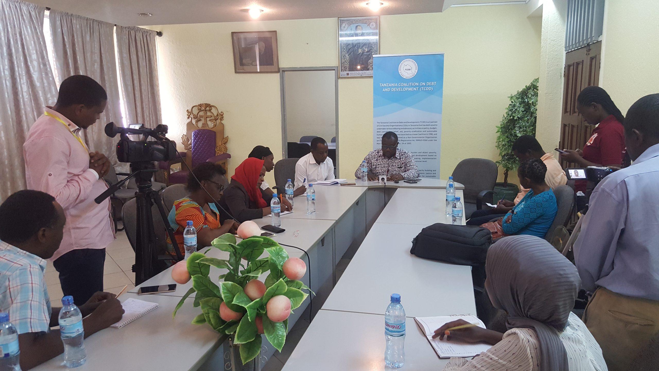 TCDD Executive Director Addressing Media in Dar es Salaam