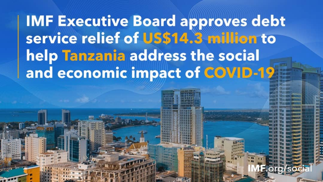 IMF Executive Board Approves $14.3 Million Debt Relief to the United Republic of Tanzania under the Catastrophe Containment and Relief Trust
